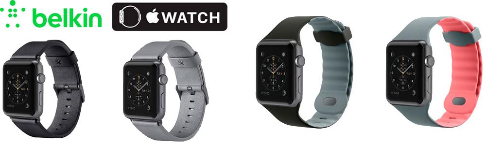 Belkin ремешки для Apple Watch