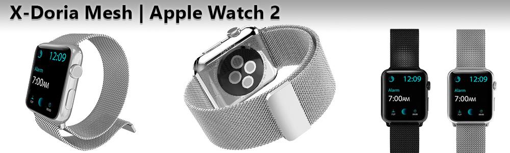 Миланские ремешки X Doria Mesh для Apple Watch 2