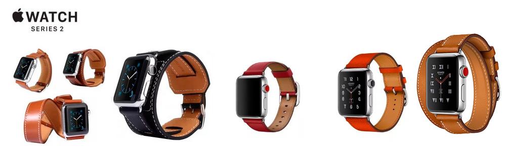 Разные ремешки для Apple Watch 2