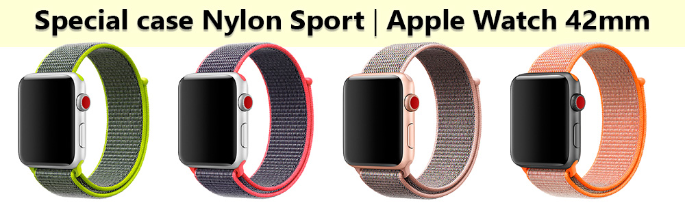 Special Nylon Sport для Apple Watch 3
