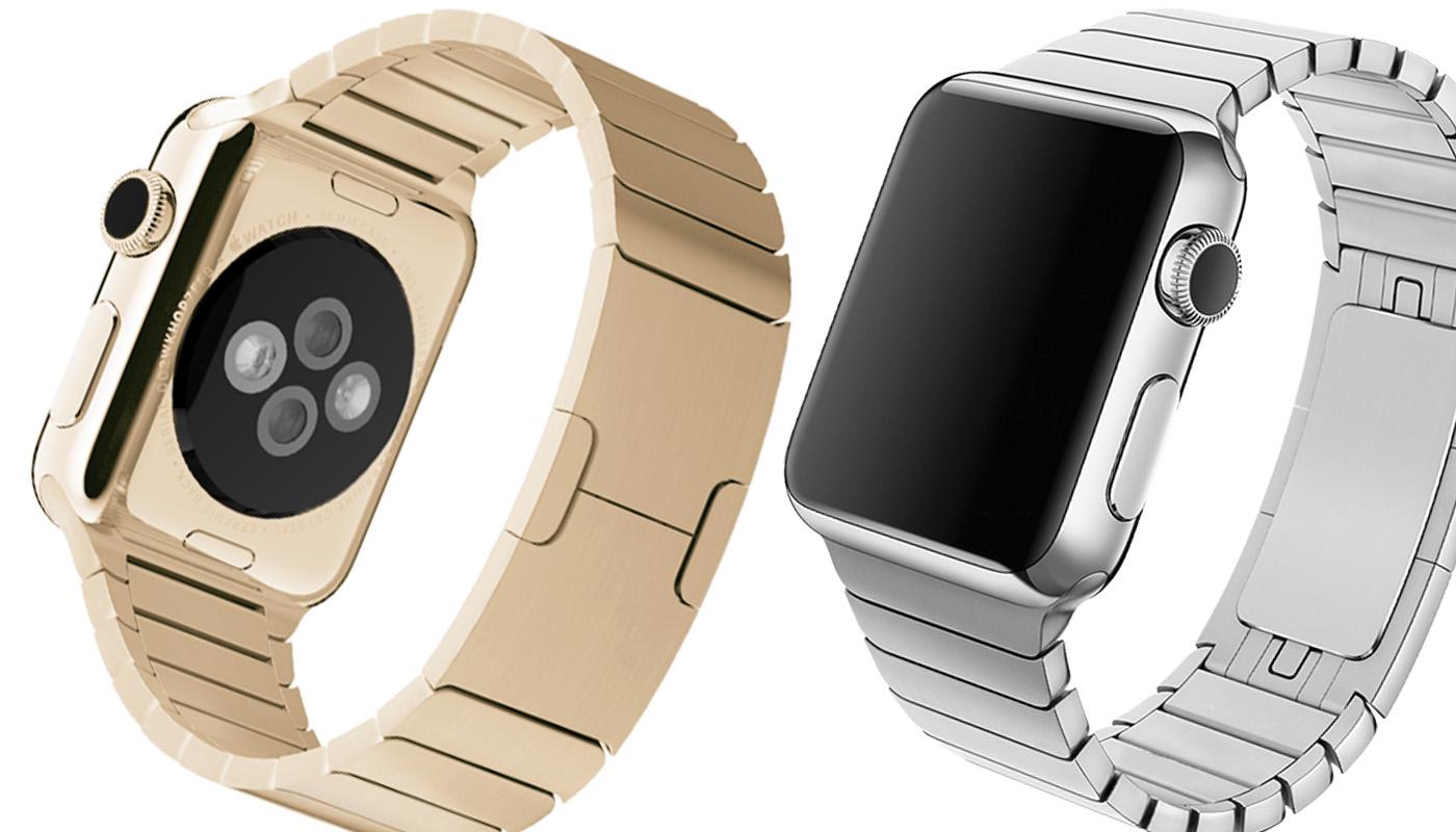 Блочный ремешок для Apple Watch, Special Case, 42mm, золотой