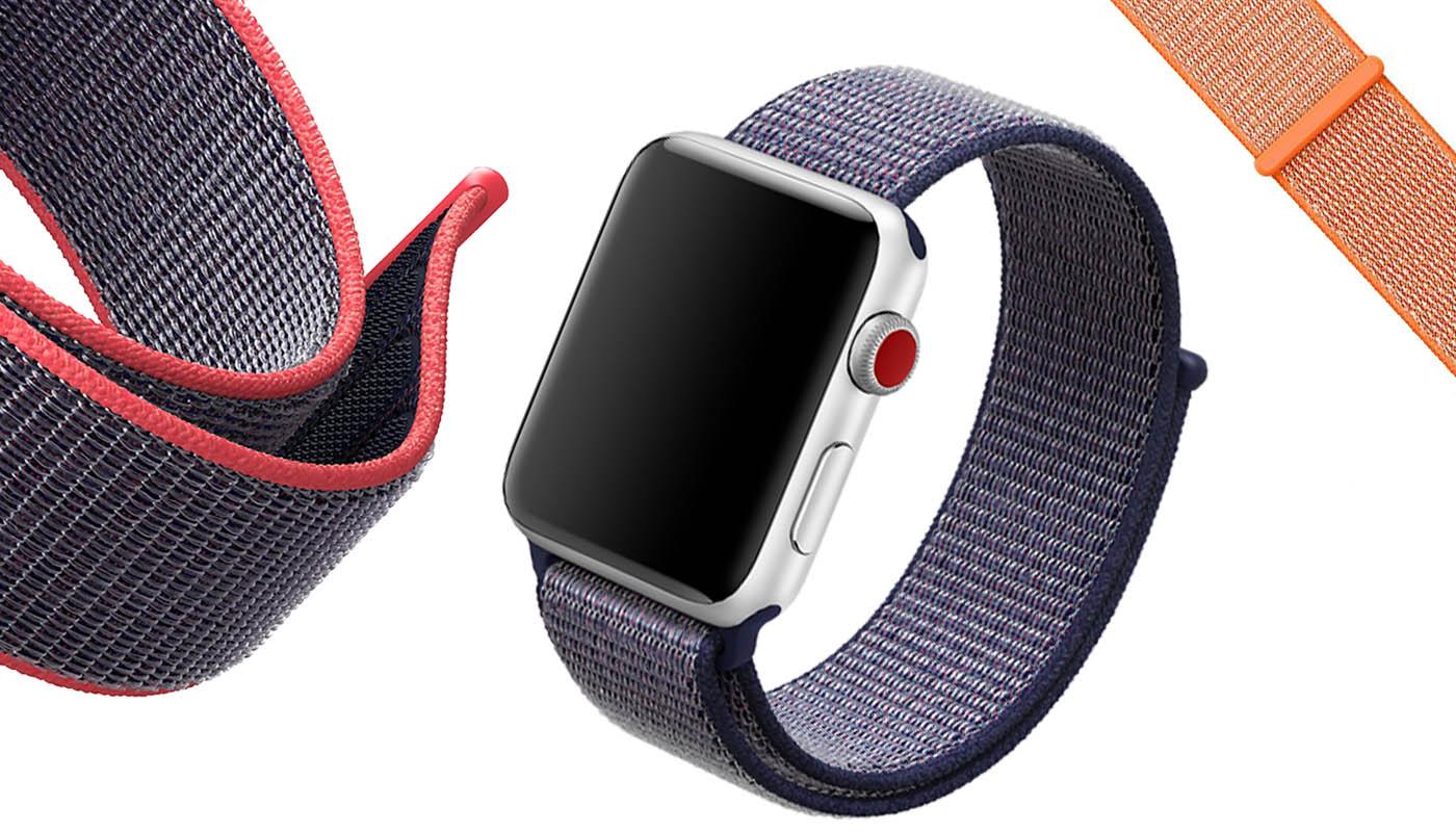 Ремешок для Apple Watch, 42mm, фиолетовый, Special case Nylon Sport