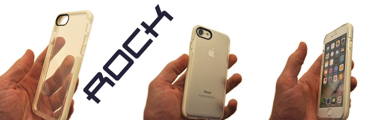 Чехол прозрачный, силиконовый Rock на iPhone 8