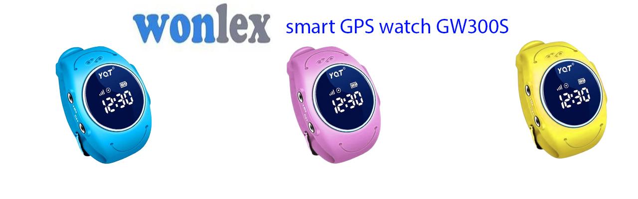 Детские часы GPS Wonlex GW300S Желтые