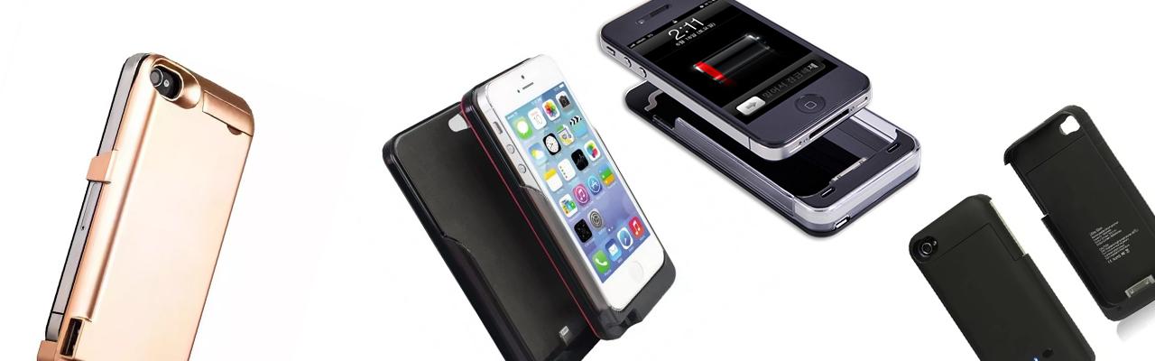 Чехлы аккумуляторы на iPhone 4