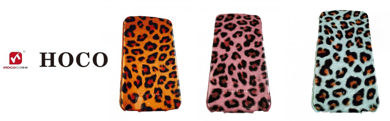 Чехлы Hoco леопардовые на iPhone 4