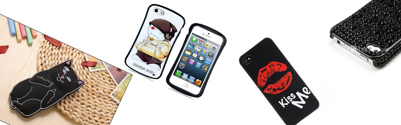 Чехлы прикольные на iPhone 4