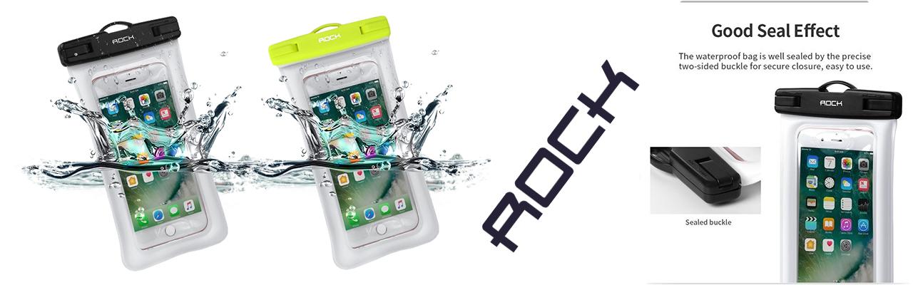 Чехол водонепроницаемый Rock Waterproof на телефон