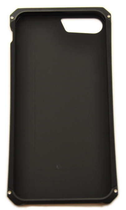 Чехол противоударный Ginmic, Solies, чёрный, для iPhone 8 Plus