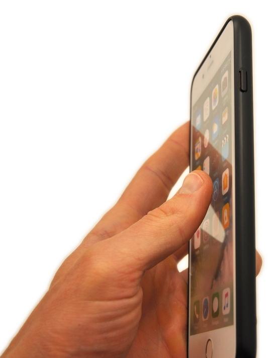Чехол накладка POLO RACQUET CLUB Bohemia чёрная для iPhone 8 Plus