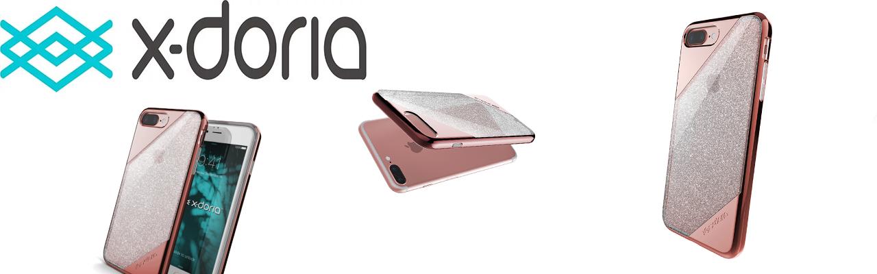 Чехол накладка X-Doria Revel Lux Розовое Золото для iPhone 8 plus