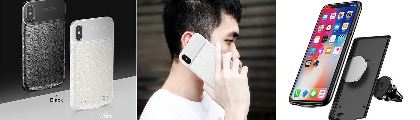 Чехлы аккумуляторы для iPhone X модели 005