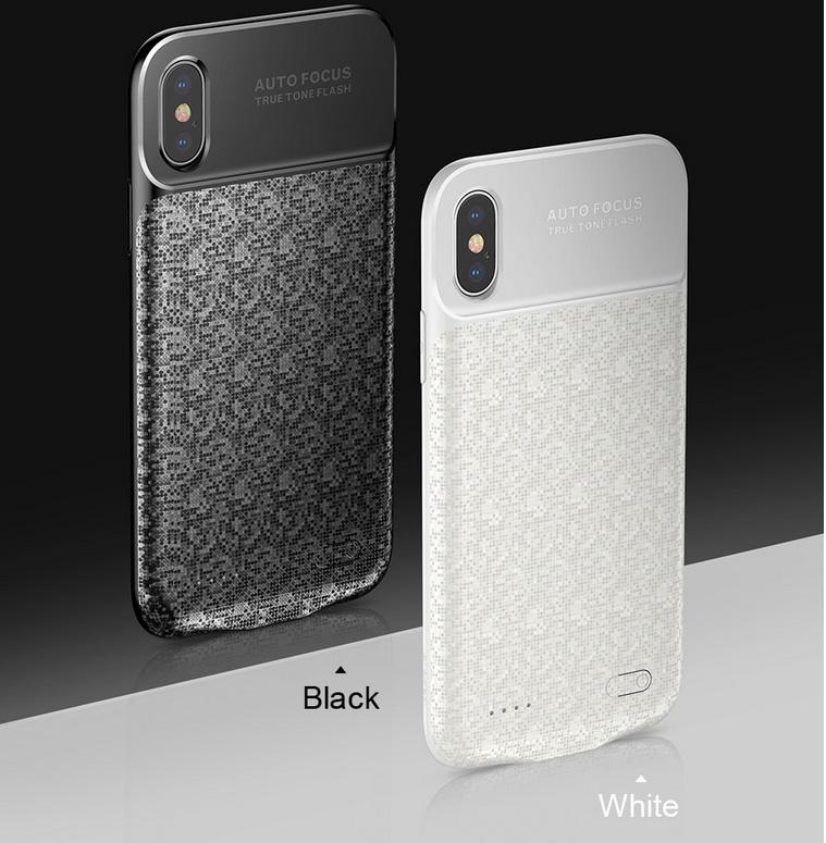 Чехол аккумулятор Baseus, Ultra Ultra Slim, белый, для iPhone X