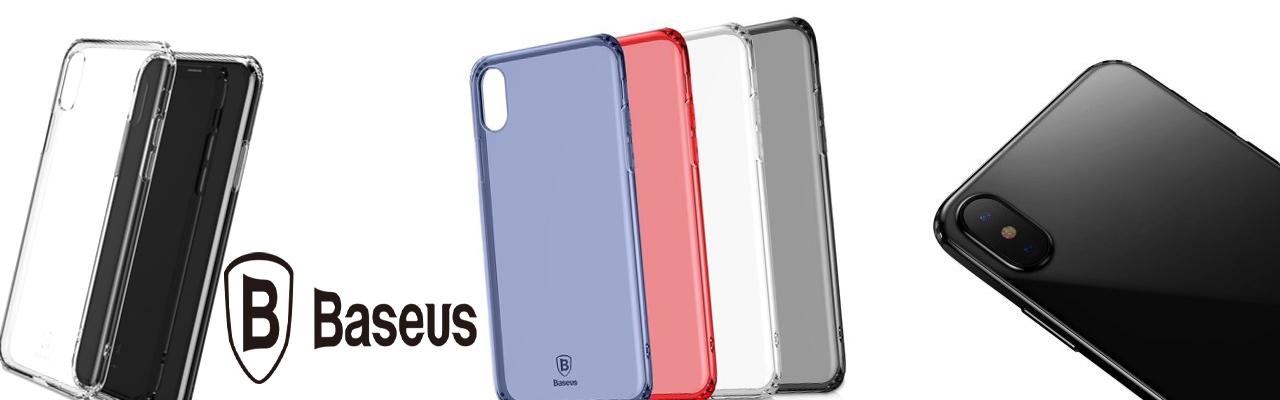 Чехол силиконовый прозрачный Baseus Armor Case для iPhone X