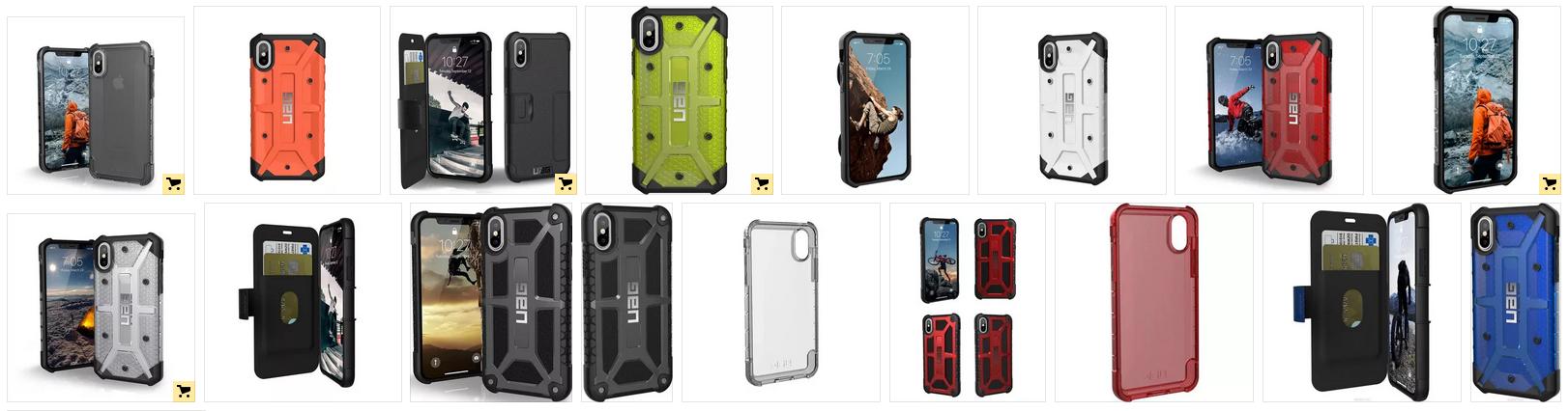 Чехлы UAG для iphone XS