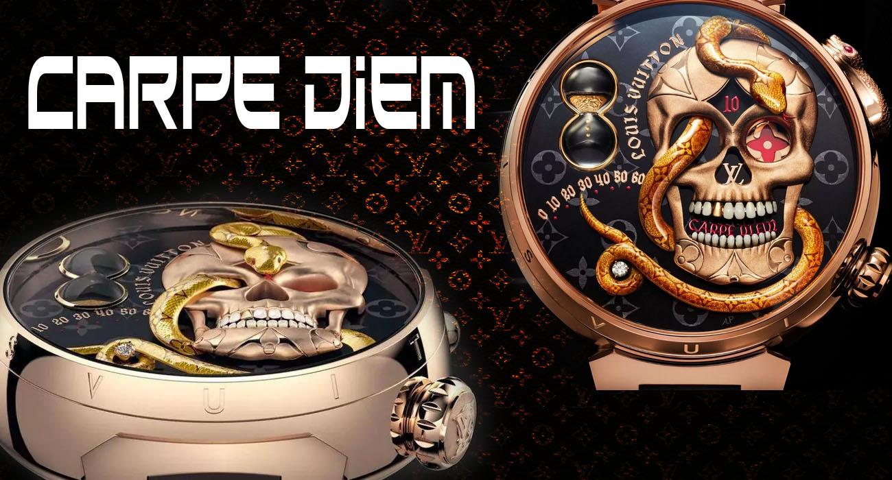 Элитные часы Louis Vuitton Carpe Diem 2021 года