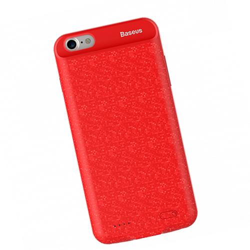 Чехол аккумулятор Baseus Power Bank Case, красный для iPhone 8