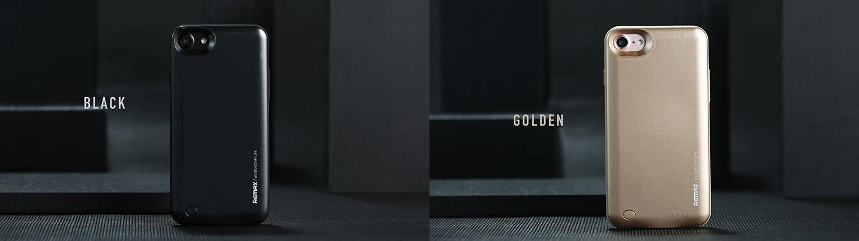 Чехол аккумулятор Remax, чёрный и золотой