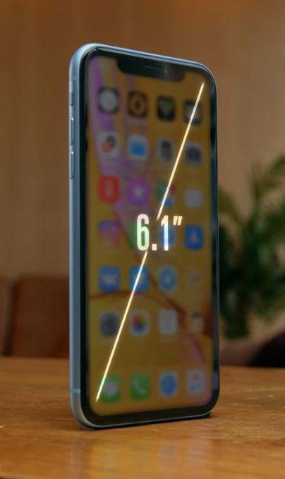 Обзор iPhone XR — Дисплей 1