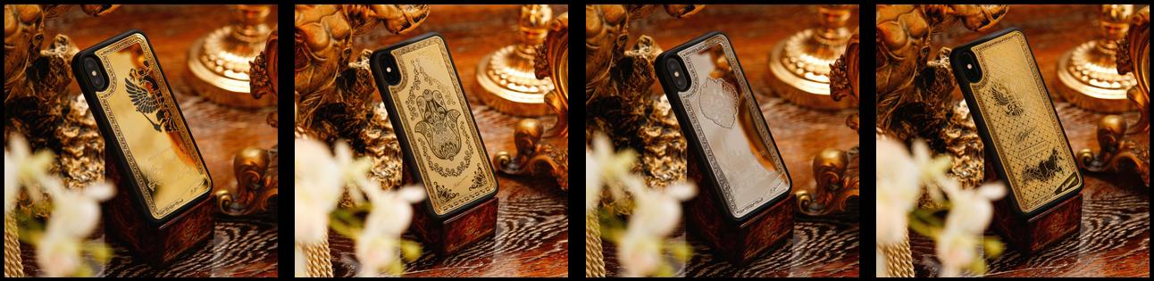Золотые чехлы Лашманов - Эмблемы